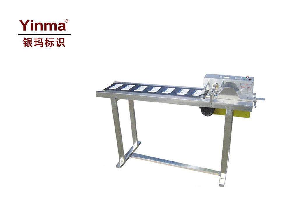 Customized Automatic Bag Labeling Machine / Carton Labeling Machine Electric Driven